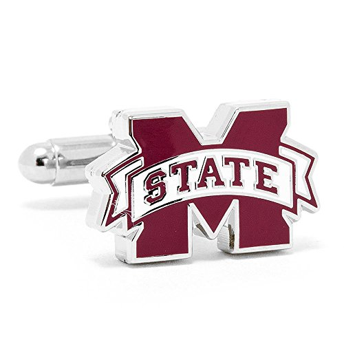 Mississippi State Bulldogs Cufflinks with New Collectible ギフト ボックス (海外取寄せ品)