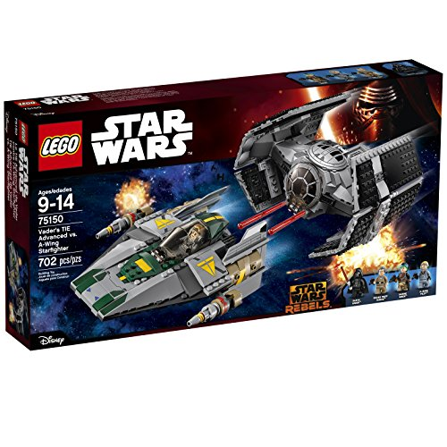 Vader's ネクタイ Advanced vs. A-Wing Starfighter 75150 (海外取寄せ品)