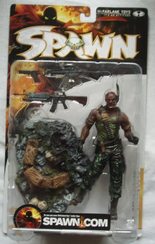 スポーン Spawn series 17 AL SIMMONS アクション Figure GORY VARIANT with bloody デッド corpse on base by McFarlane Toys (海外取寄せ品)