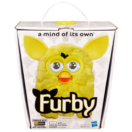 Furby 2012 イエロー with AA Batteries 「汎用品」(海外取寄せ品)