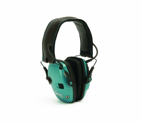 Howard Leight by Honeywell Impact スポーツ Sound Amplification エレクトロニック Earmuff (Teal) 「汎用品」(海外取寄せ品)
