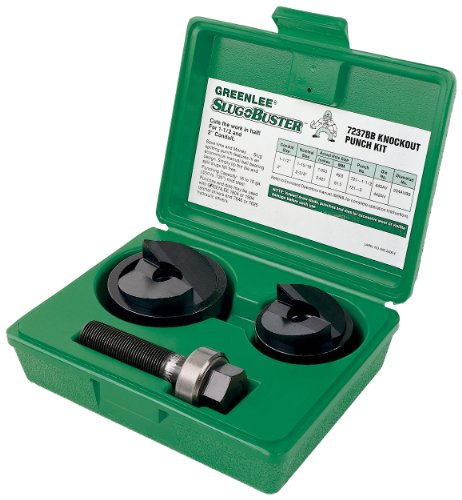 Greenlee 7237BB Slug-Buster マニュアル Knockout キット for 1-1/2 and 2-インチ Conduit 「汎用品」(海外取寄せ品)