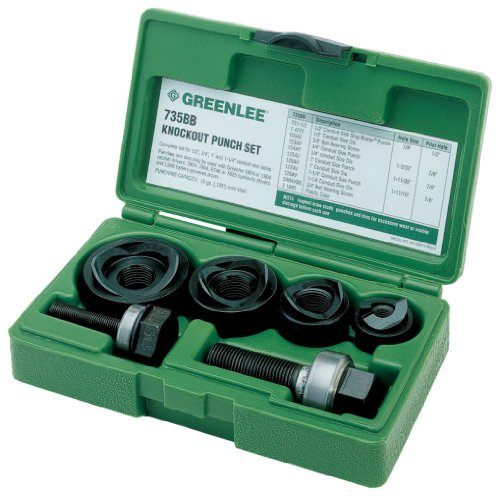 Greenlee 7235BB Slug-Buster マニュアル Knockout キット for 1/2 to 1-1/4-インチ Conduit 「汎用品」(海外取寄せ品)