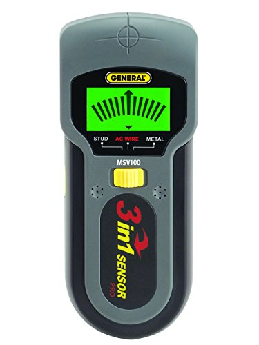 General Tools MSV100 スタッド, メタル and Voltage Detector 「汎用品」(海外取寄せ品)