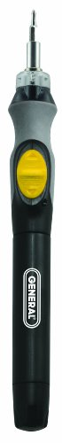 General Tools 502 Cordless Lighted Power プレシジョン Screwdriver 「汎用品」(海外取寄せ品)