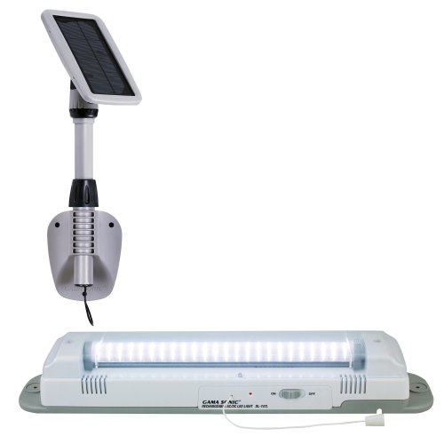Gama Sonic Light My Shed III ソーラー LED Shed Light Fixture #GS-16LD 「汎用品」(海外取寄せ品)