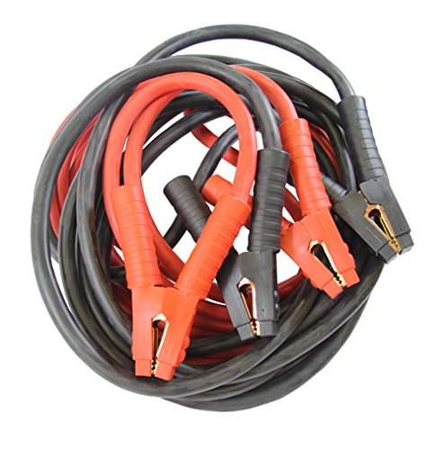 FJC (45265) 25' 2/0-ゲージ Booster ケーブル with 800 Amp Rating Clamp 「汎用品」(海外取寄せ品)