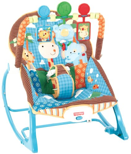 Fisher-Price Infant To Toddler ロッカー, ジャングル ファン 「汎用品」(海外取寄せ品)