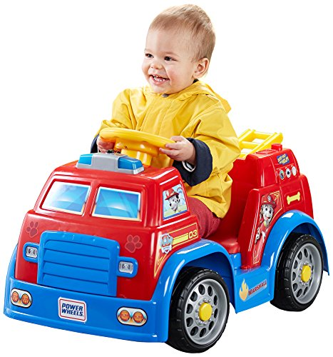 Fisher-Price Power Wheels Nickelodeon PAW Patrol ファイア Truck 「汎用品」(海外取寄せ品)