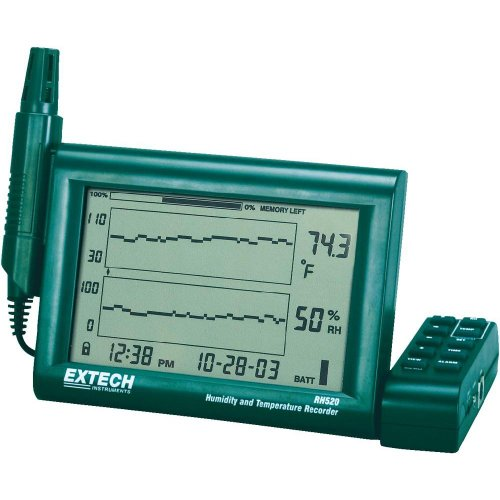 Extech RH520A Humidity and テンプレチャー Chart Recorder with RS-232 コンピューター Interface 「汎用品」(海外取寄せ品)