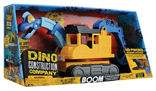 Educational Insights Dino Construction カンパニー-Boom the Brachiosaurus Backhoe 「汎用品」(海外取寄せ品)