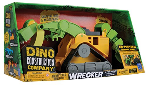Educational Insights Dino Construction カンパニー Wrecker the T-Rex Skid Loader 「汎用品」(海外取寄せ品)