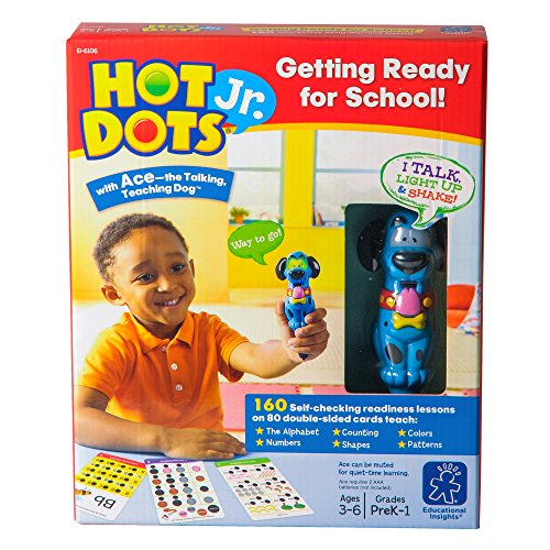 Educational Insights ホット Dots Jr. Getting レディー For スクール セット with Ace ペン 「汎用品」(海外取寄せ品)