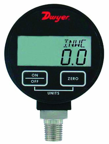 Dwyer DPGA Series デジタル Pressure ゲージ for リキッド and Compatible Gases, レンジ 0 to 300 psig 「汎用品」(海外取寄せ品)