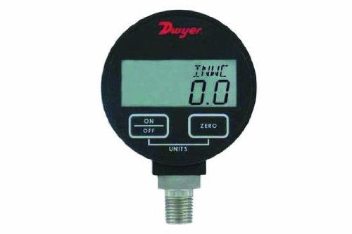 Dwyer DPGA Series デジタル Pressure ゲージ for リキッド and Compatible Gases, レンジ 0 to 100 psig 「汎用品」(海外取寄せ品)