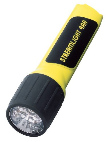 Streamlight 68200 4AA ProPolymer LED Flashlight with ホワイト LEDs, イエロー 「汎用品」(海外取寄せ品)