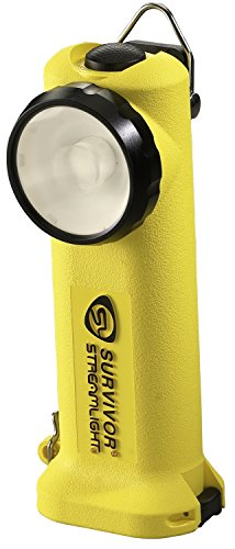 Streamlight 90510 Survivor LED Flashlight Rechargeable without Charger, イエロー 「汎用品」(海外取寄せ品)