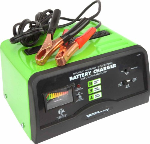 Forney 52723 バッテリー Charger, 2/10/50-Amp, 12-Volt 「汎用品」(海外取寄せ品)