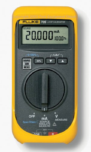 Fluke 707 Loop Calibrator with クイック Click Knob, 28V Voltage, 24mA Current, 0.015 percent Accuracy 「汎用品」(海外取寄せ品)
