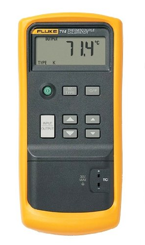 Fluke 714 LCD Thermocouple Calibrator, 75mV Voltage 「汎用品」(海外取寄せ品)