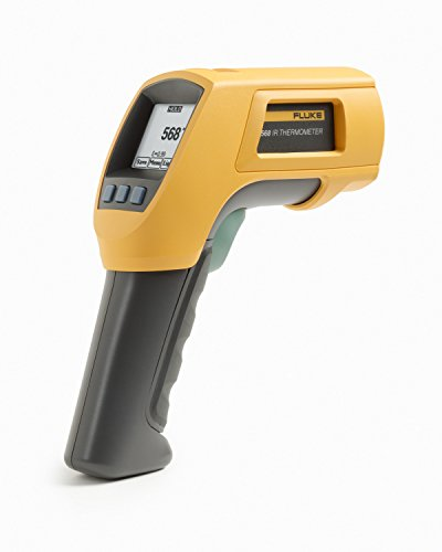 Fluke 568 Duel Infrared サーモメーター, -40 to +1472 Degree F レンジ, Contact/Non Contact 「汎用品」(海外取寄せ品)