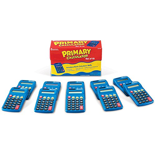 Learning Resources Primary Calculator セット of 10 「汎用品」(海外取寄せ品)