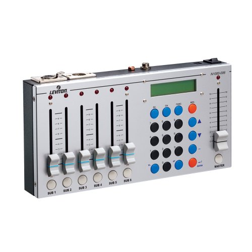 Leviton N1000-6 1000 Series DMX/シーン Controller, 6 サブ-Masters and (1) Master, 512 Channels of Control 「汎用品」(海外取寄せ品)