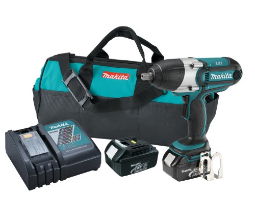 Makita XWT04 18V LXT 1/2-インチ ハイ トルク Impact Wrench キット 「汎用品」(海外取寄せ品)