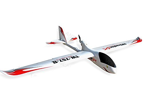 6-Ch Remote Control レンジャー EX ロング レンジ FPV Airplane グライダー RC PNP w/Brushless セット up + EPO Durability + With Flaps 「汎用品」(海外取寄せ品)