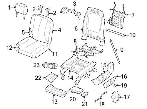 Genuine Mopar 68065843AA - Switch-Lumbar Control 「汎用品」(海外取寄せ品)