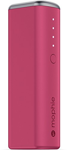 mophie Power リザーブ 1X (2,600mAh) - ピンク 「汎用品」(海外取寄せ品)