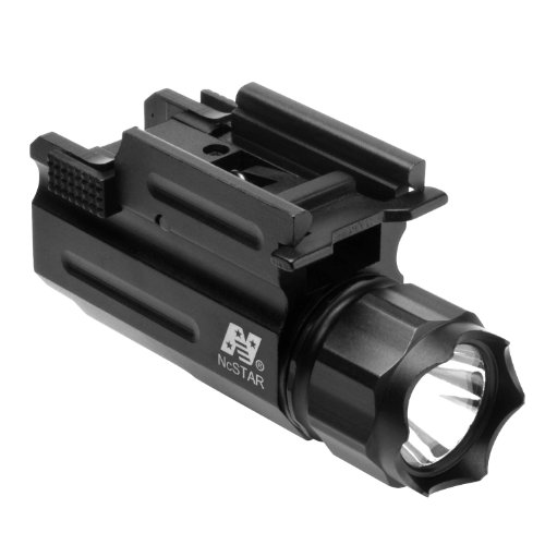 NcStar Airsoft/Paintball LED Flashlight/クイック リリース Weaver (AQPTF) 「汎用品」(海外取寄せ品)