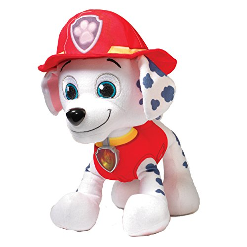 Paw Patrol Deluxe ライト and Sounds Plush - Real トーキング マーシャル 「汎用品」(海外取寄せ品)