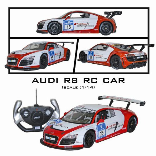 1:14 Remote Control Audi スポーツ R8 LMS レディー-To-ラン (Batteries Included) パフォーマンス Car 「汎用品」(海外取寄せ品)