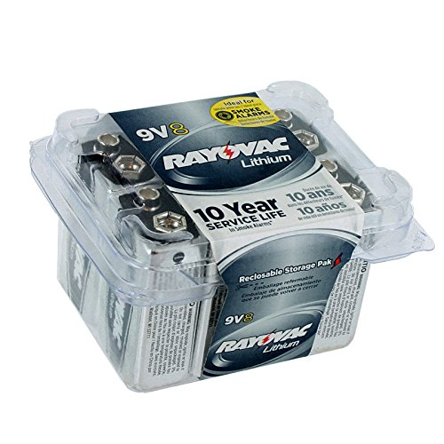 Rayovac Lithium 9v Batteries, 0.672 Pound 「汎用品」(海外取寄せ品)