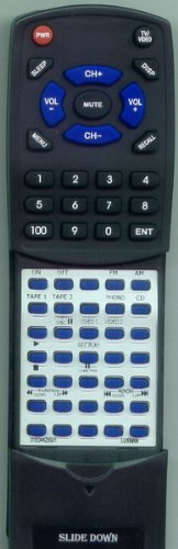 LUXMAN リプレイスメント Remote Control for R117, 01E4423S01, RR117 「汎用品」(海外取寄せ品)
