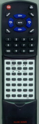 TEAC リプレイスメント Remote Control for RC969, CDX6 「汎用品」(海外取寄せ品)