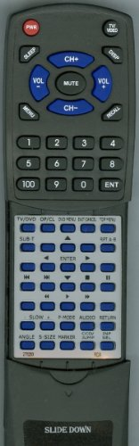 RCA リプレイスメント Remote Control for 276263, 076R0PF021, L26HD35DA, L26HD35D, L32HD35D 「汎用品」(海外取寄せ品)