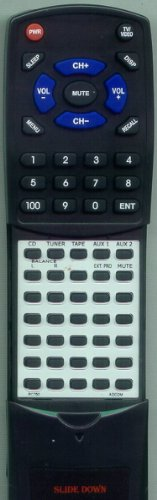 ADCOM リプレイスメント Remote Control for GFP750, GFP750RC, RC750 「汎用品」(海外取寄せ品)