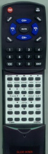 MEMOREX リプレイスメント Remote Control for STS71E, STS98RW, STS98RW 「汎用品」(海外取寄せ品)