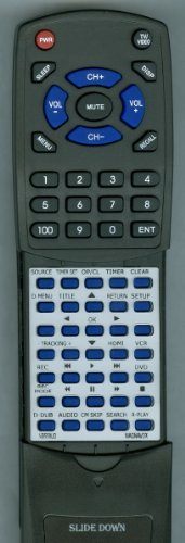 MAGNAVOX リプレイスメント Remote Control for NB558, RZV427MG9, ZV427MG9, NB558UD 「汎用品」(海外取寄せ品)