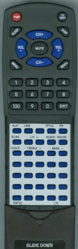 ILIVE リプレイスメント Remote Control for REMIT302, IT202B 「汎用品」(海外取寄せ品)