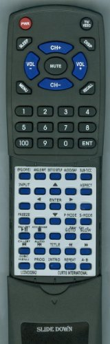 CURTIS INTERNATIONAL リプレイスメント Remote Control for LCDVD326A2 「汎用品」(海外取寄せ品)