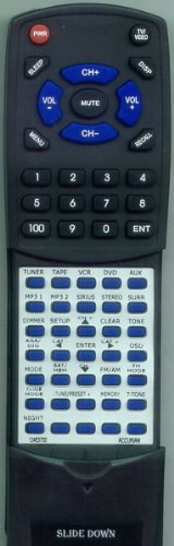 ACCURIAN リプレイスメント Remote Control for 12453700, AVR315048, 315048 「汎用品」(海外取寄せ品)