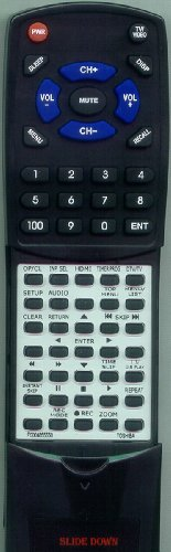 TOSHIBA リプレイスメント Remote Control for DR560, SER0264, DR550, P000485550, DR560KU 「汎用品」(海外取寄せ品)