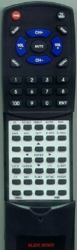 HAIER リプレイスメント Remote Control for 42EP14S, HLH32BB, TV562023, VC532237, 42EP24S 「汎用品」(海外取寄せ品)