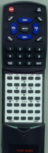 TOSHIBA リプレイスメント Remote Control for 46H83, 50H71, 50H12, 65H81, 36HF12, 36HF13, 42H83 「汎用品」(海外取寄せ品)
