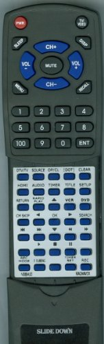 MAGNAVOX リプレイスメント Remote Control for NB884, NB884UD, ZV457MG9A 「汎用品」(海外取寄せ品)