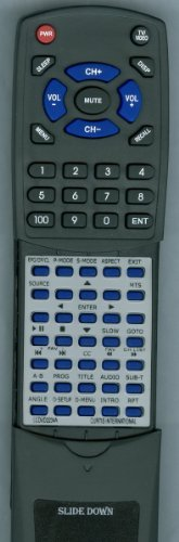 CURTIS INTERNATIONAL リプレイスメント Remote Control for LEDVD1975A2, LCDVD2234A, LCDVD199A2, LCDVD2454A 「汎用品」(海外取寄せ品)