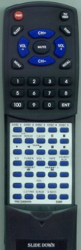 SHARP リプレイスメント Remote Control for RRMCG0408AWSA, XLHP515, XLHP505, XLHP707 「汎用品」(海外取寄せ品)